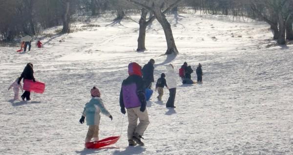 赤城山 第一スキー場