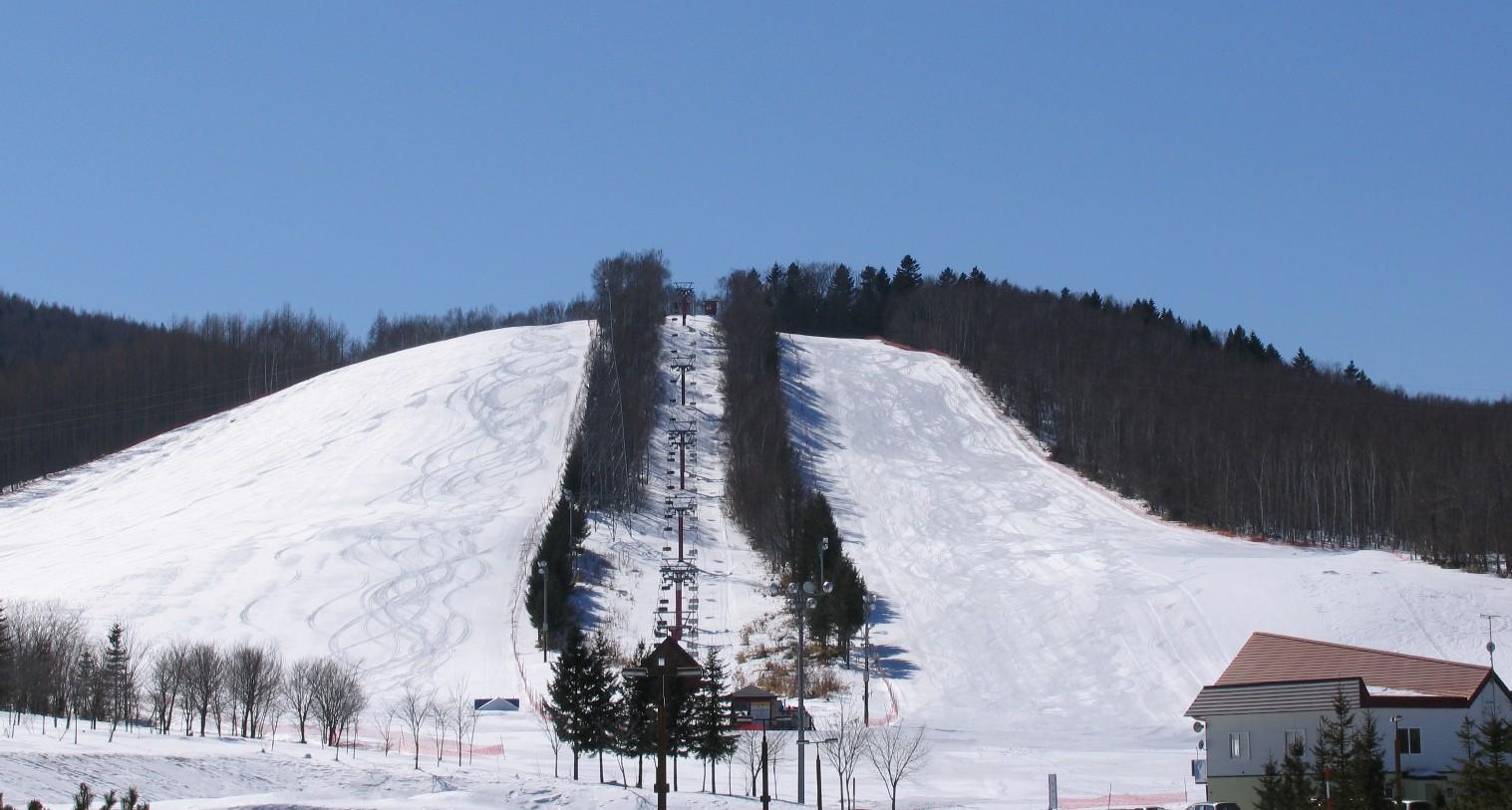 北見市留辺蘂町八方台スキー場