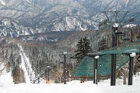 大雪山層雲峡黒岳スキー場