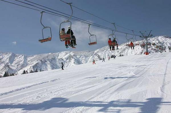 石打花岡スキー場