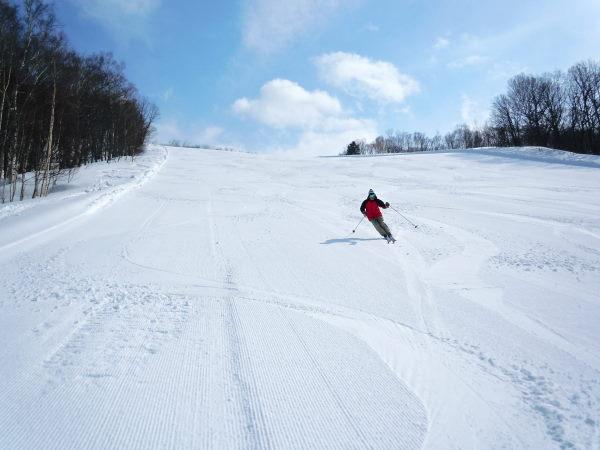暑寒別岳スキー場