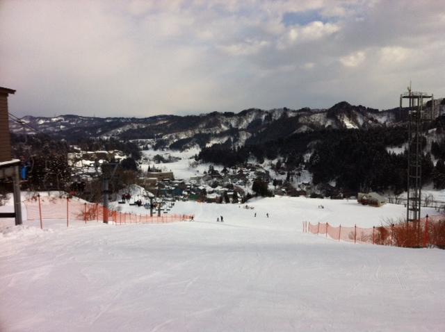 高柳ガルルのスキー場