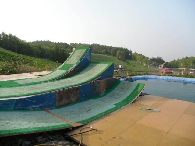 テイネウォータージャンプ