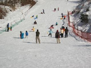 アウトドアイン母袋スキー場