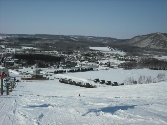 忠類白銀台スキー場