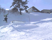 スカイバレイスキー場